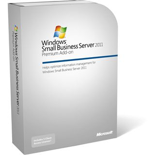 Microsoft Windows Small Business Server 2011 Premium Add-on 32/64 Bit Deutsch Zugriffslizenz 5 Device CALs