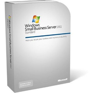 Microsoft Windows Small Business Server 2011 Standard 64 Bit Englisch Zugriffslizenz 5 User