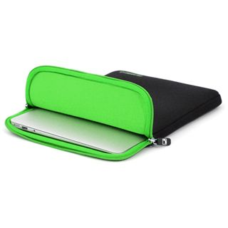 "CoolBananas ShockProof Pouch MB Air (11"") Schwarz/GreenApple"