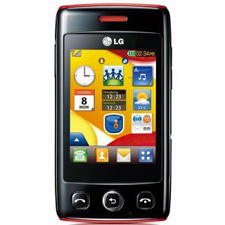 LG Electronics LG Electronics T300 black red