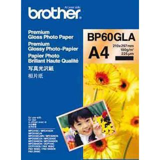 Brother Glanzpapier 20 Blatt BP60GLA