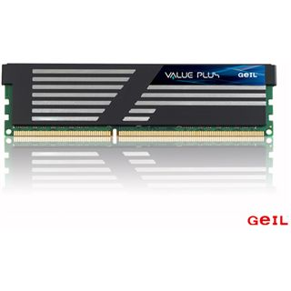 4GB GeIL Value Plus DDR3-1600 DIMM CL9 Single