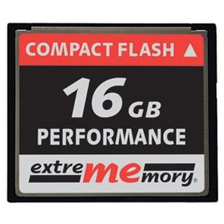 16 GB Extrememory Performance Compact Flash TypI 120x Bulk
