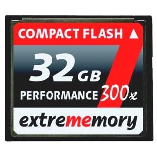 32 GB Extrememory Performance Compact Flash TypI 300x Retail