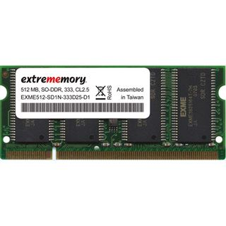 512MB Extrememory Value DDR-333 SO-DIMM CL2.5 Single