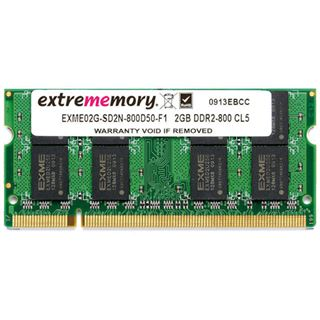 1GB Extrememory EXME01G-SD2N-667S50-F1 DDR2-667 SO-DIMM CL5 Single