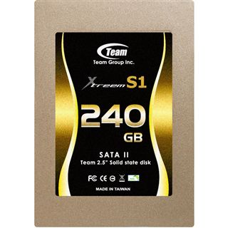 "240GB TeamGroup SSD 2.5"" (6.4cm) SATA 3Gb/s MLC asynchron (TG240G-S25AS1M)"
