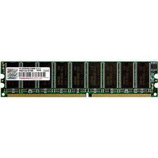 1GB Transcend Value DDR-400 DIMM CL3 Single