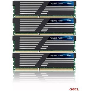 16GB GeIL Value Plus DDR3-1333 DIMM CL7 Quad Kit