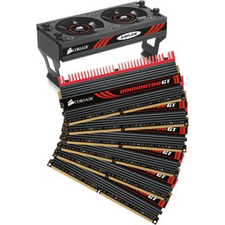 12GB Corsair Dominator DDR3-1866 DIMM CL9 Hex Kit