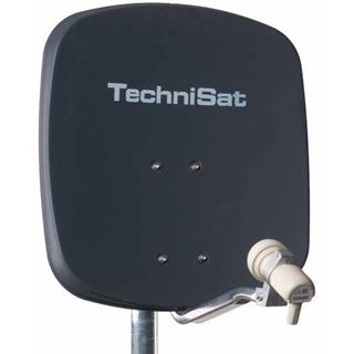 TechniSat DigiDish 45 + Twin LNB anthrazit