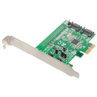 Dawicontrol DC-600e 2 Port PCIe 2.0 x1 Low Profile retail