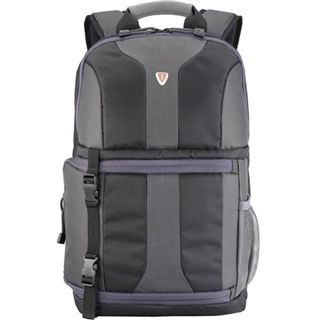 "Sumdex Kamera Notebook Rucksack 14.1"" / 15""MacBook Pro Impulse @ Full Speed schwarz-grau"