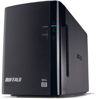 "2000GB Buffalo DriveStation Duo HD-WL2TU3R1-EU 3.5"" (8.9cm) USB 3.0 schwarz"