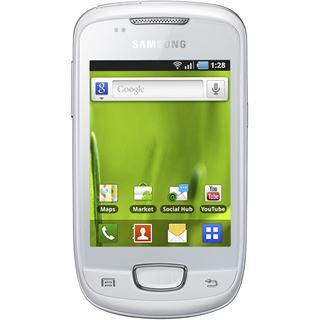 Samsung Galaxy Mini S5570 160 MB weiß