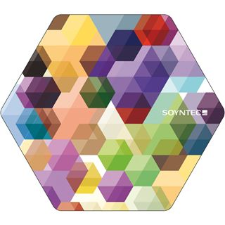Soyntec Inppad 100 Daimond Colors 220 mm x 190 mm bunt