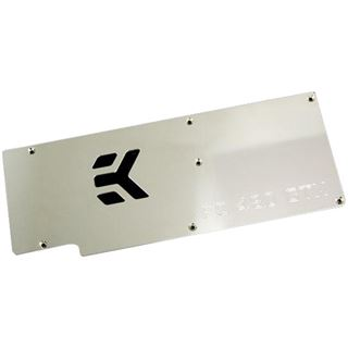 EK Water Blocks EK-FC480 GTX Backplate - Nickel plated