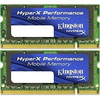4GB Kingston HyperX Plug n Play DDR3-1600 SO-DIMM CL9 Dual Kit