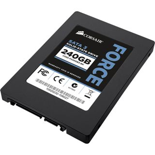 "240GB Corsair Force 3 Series 2.5"" (6.4cm) SATA 6Gb/s MLC asynchron (CSSD-F240GB3-BK)"
