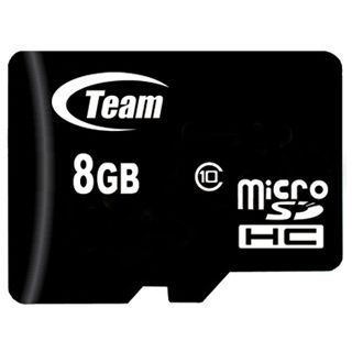 8 GB TeamGroup Standard microSDHC Class 10 Retail inkl. Adapter