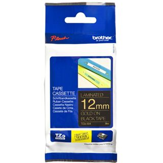 Brother TZE-334 LAMINATED TAPE 12mm 8m