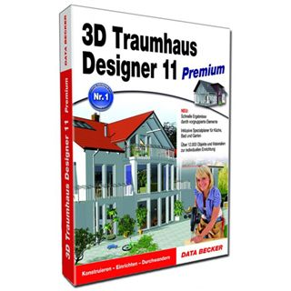 Data Becker 3D TRAUMHAUS DESIGNER 11 PREM.