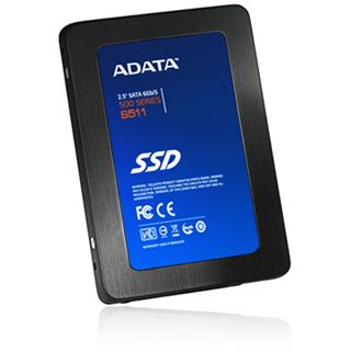 "60GB ADATA S511 2.5"" (6.4cm) SATA 6Gb/s MLC synchron (AS511S3-60GM-C)"