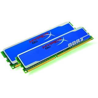 8GB Kingston HyperX blu. DDR3-1600 DIMM CL9 Dual Kit
