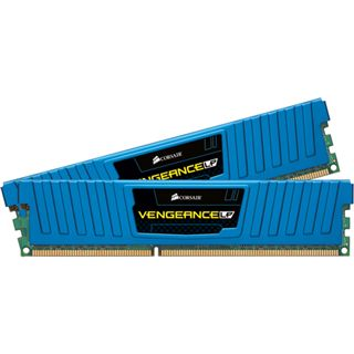 8GB Corsair Vengeance LP blau DDR3-1600 DIMM CL9 Dual Kit