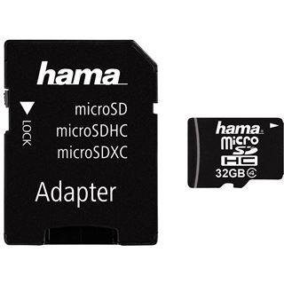 32 GB Hama High Speed Foto microSDHC Class 4 Retail inkl. Adapter