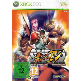 Super Capcom Street Fighter 4 (XBox360)