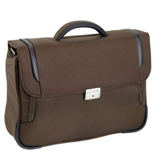 "Samsonite X-Blade Briefcase 1 Gusset16"" Lighter, braun"