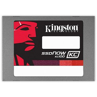 "120GB Kingston SSDNow KC100 2.5"" (6.4cm) SATA 6Gb/s MLC synchron (SKC100S3/120G)"