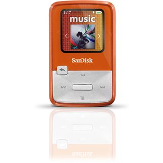 4GB Sandisk Sansa Clip Zip orange