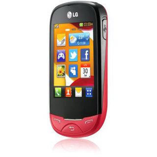 LG T500 ego red