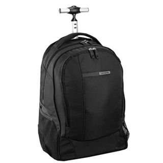 Samsonite Wander-Full Laptop Backpack on Wheel, schwarz