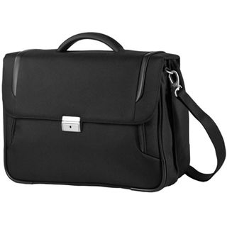 "Samsonite X-Blade Briefcase 2 Gusset16"" Lighter, schwarz"