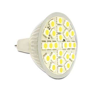 LED Delock LED Leuchtmittel MR16, 24 LED, warmweiß 3,5W