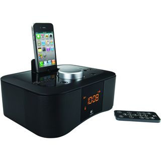 Logitech S400i Clock Radio Dock black CE