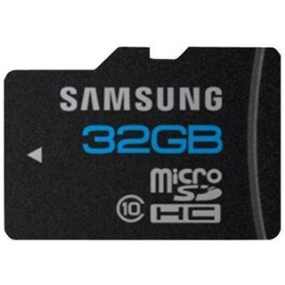 32 GB Samsung Essential microSDHC Class 10 Retail inkl. Adapter