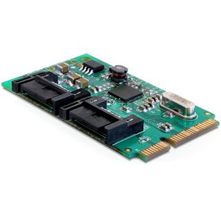 Delock 95225 2 Port PCIe Mini Card retail