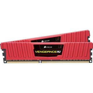 8GB Corsair Vengeance LP rot DDR3-1866 DIMM CL9 Dual Kit
