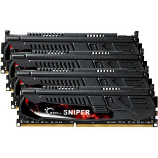 16GB G.Skill SNIPER DDR3-1600 DIMM CL9 Quad Kit