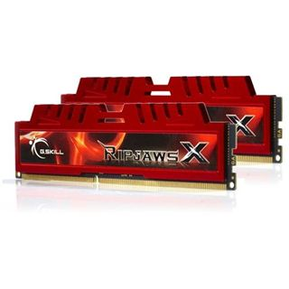 16GB G.Skill RipJawsX DDR3-1866 DIMM CL10 Dual Kit