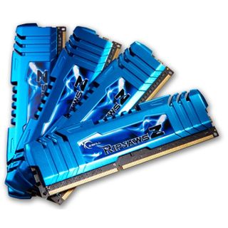 16GB G.Skill RipJawsZ DDR3-2400 DIMM CL9 Quad Kit