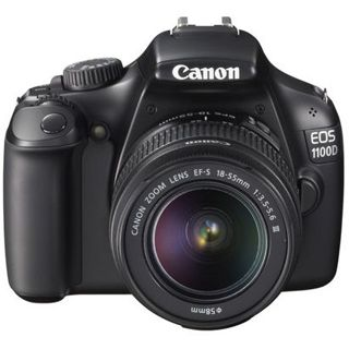 Canon EOS 1100D + EF-S 18-55 III - 12,2 Mpix, HD Video, 6,8c