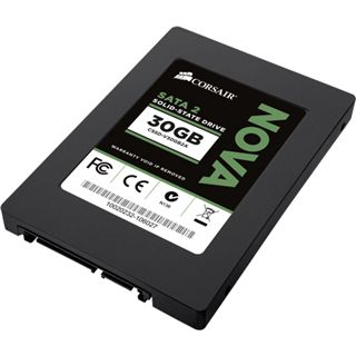 "30GB Corsair Nova Series 2.5"" (6.4cm) SATA 3Gb/s MLC asynchron (CSSD-V30GB2A)"