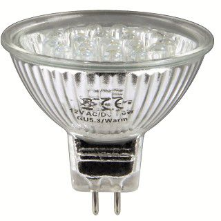 Xavax LED-Lampe, GU 5,3, 1 W, MR16, Neutralweiß