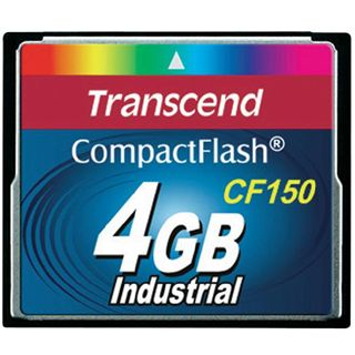 4 GB Transcend CF150 Compact Flash TypI 150x Retail