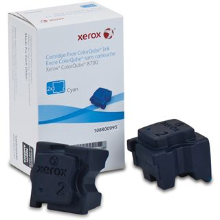 Xerox Tinte 2 Sticks 108R00995 cyan